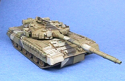 Finished Revell T-80bv